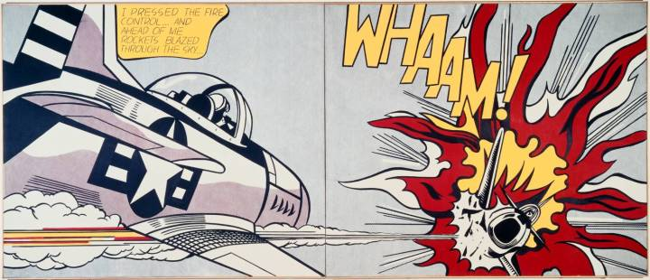Roy Lichtenstein and his Ben-Days