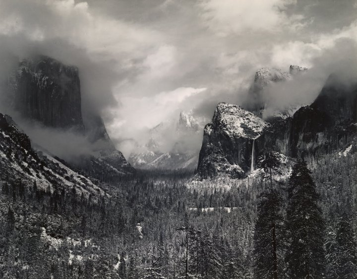 Ansel Adams and his Love forWater