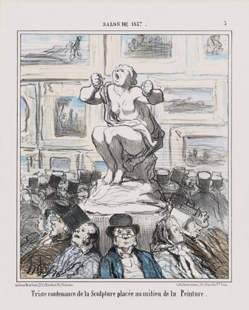 Daumiersculpture