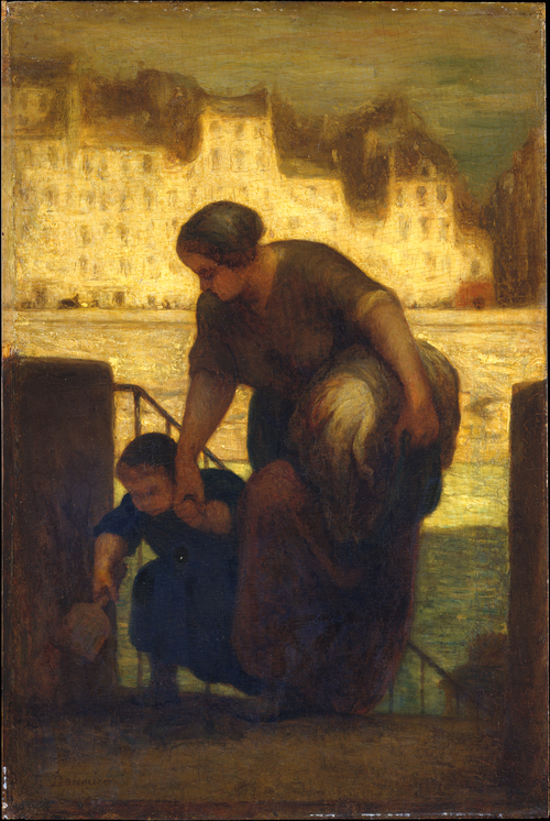 Honoré_Daumier_-_The_Laundress