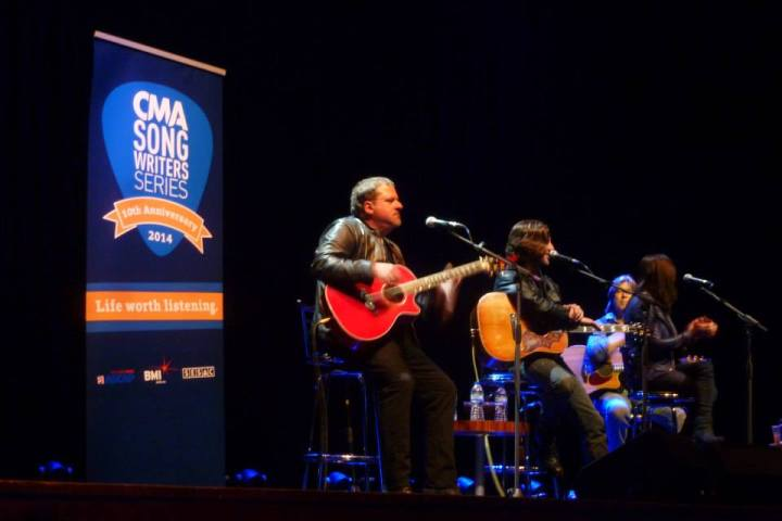 """Stupid, stupid good!"" – CMA Songwriters Series 2014, London"