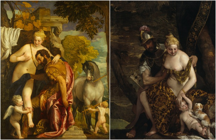 Venus and Mars and Cupid