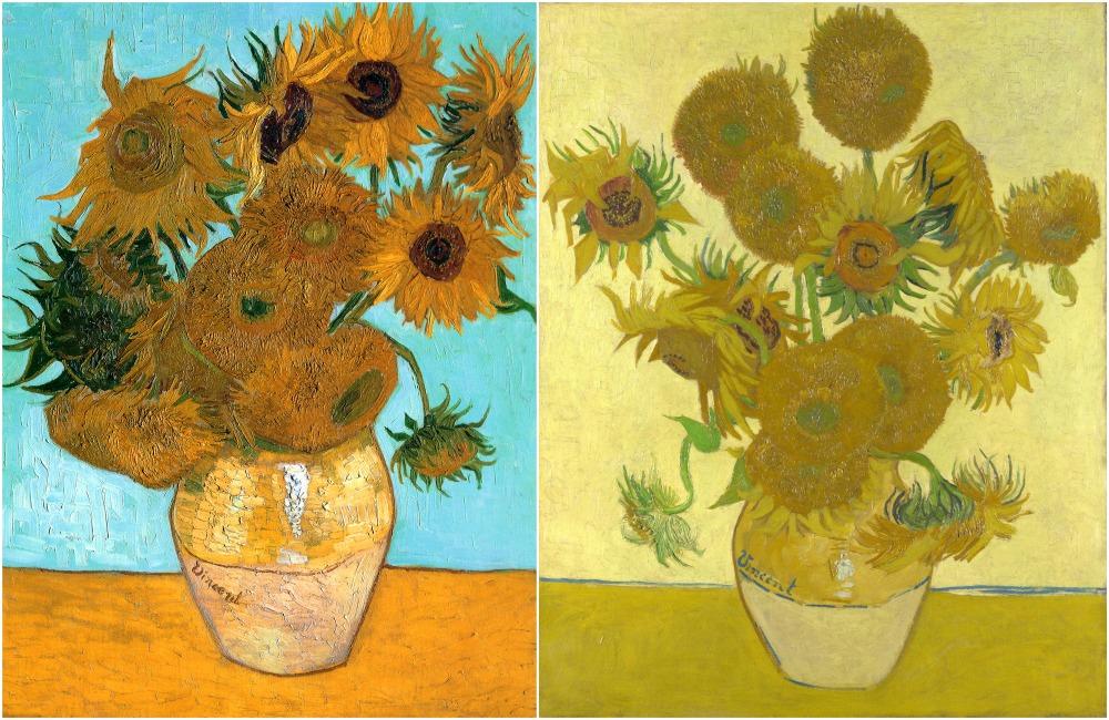 Yellow House sunflowers set