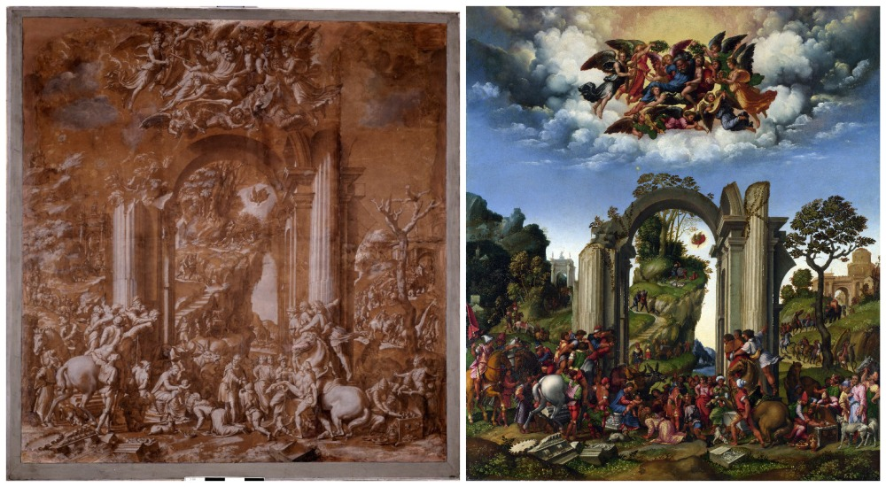 Girolamo da Treviso, Baldassare Peruzzi, Adoration of the Kings
