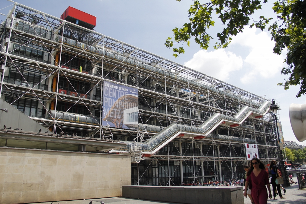 2 weeks in paris day 2 architecture fl neur of the arts - Centre george pompidou architecture ...