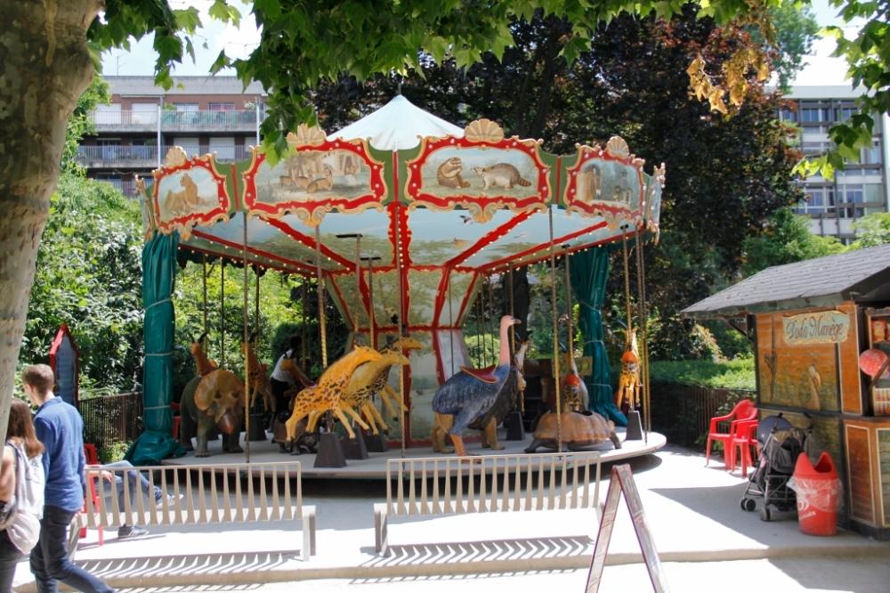 A carousel!