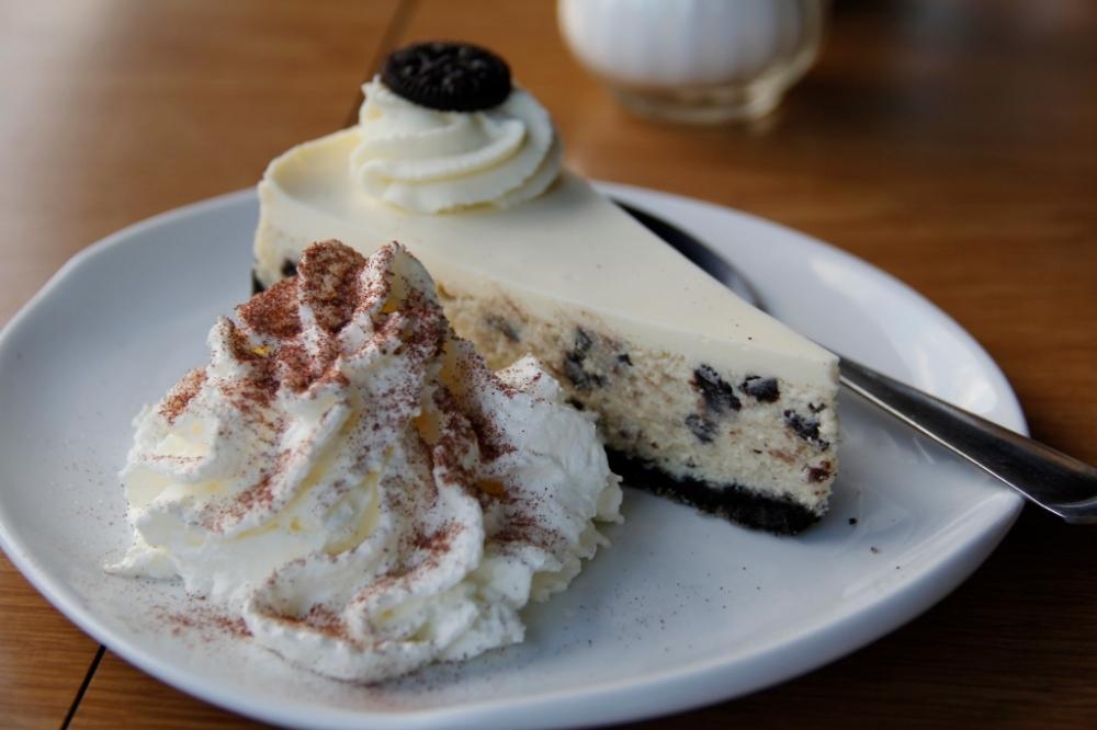Oreo cheesecake!