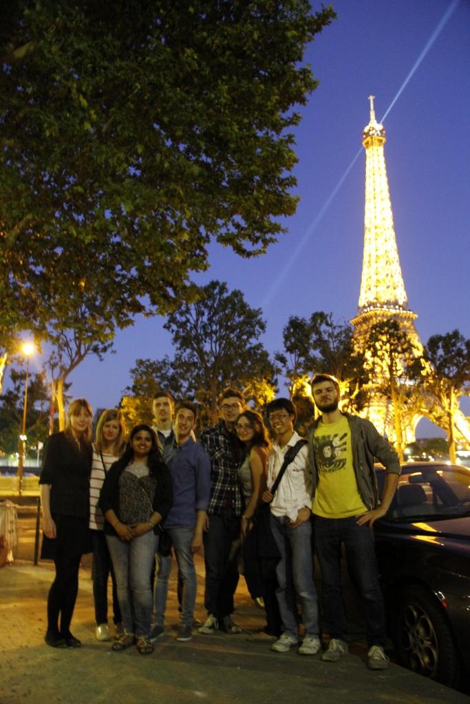 Bon soir Tour Eiffel!