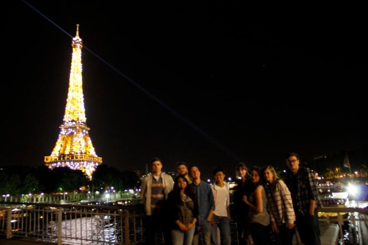 Midnight in Paris.