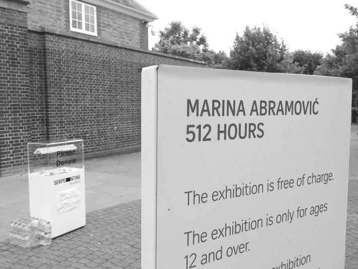 A stimulator of the human soul – 512 Hours of MarinaAbramović