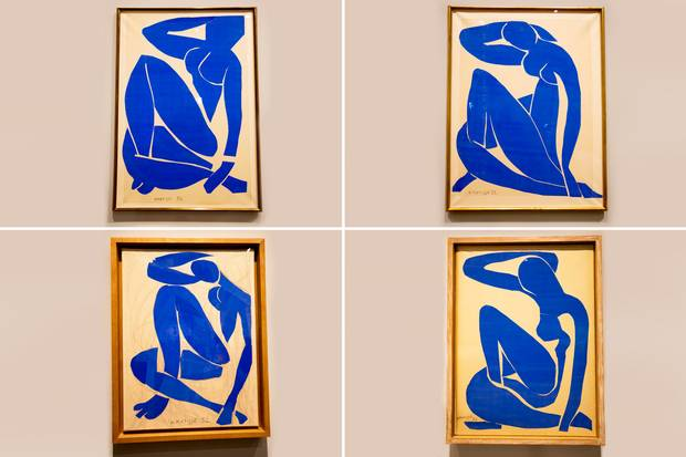 Matisse Blue Nudes, standard co uk