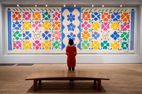 Matisse Large Decoration with Masks, thesundaytimes co uk