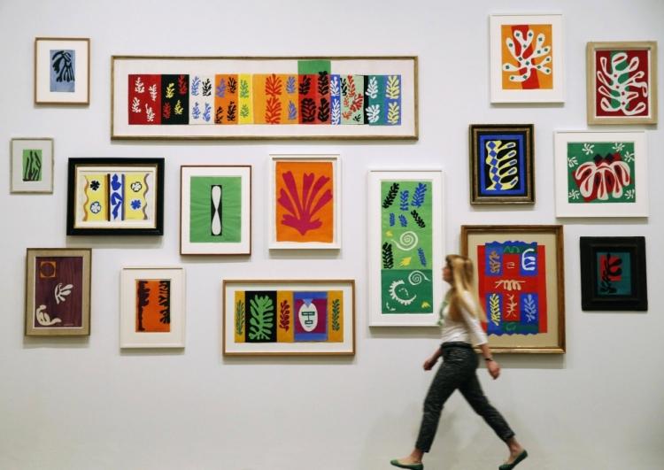 Matisse studio wall, scmp com