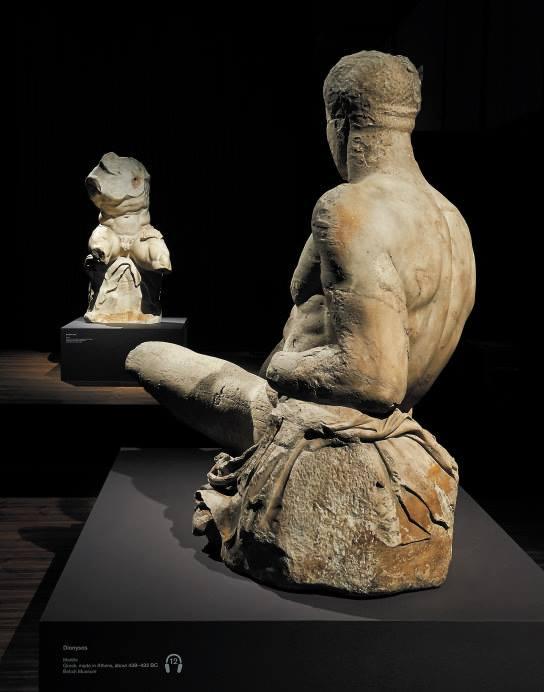 Parthenon figure and Belvedere torso