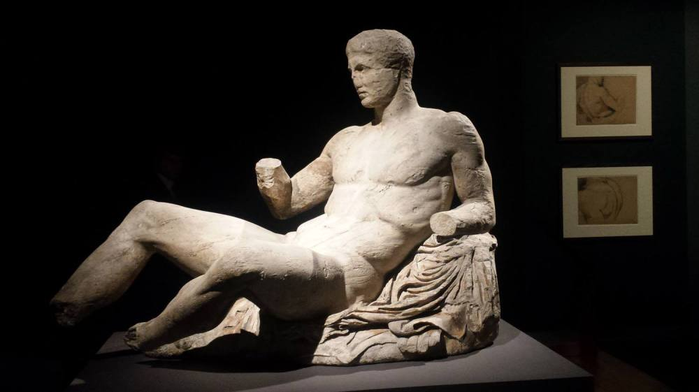 Parthenon male figure