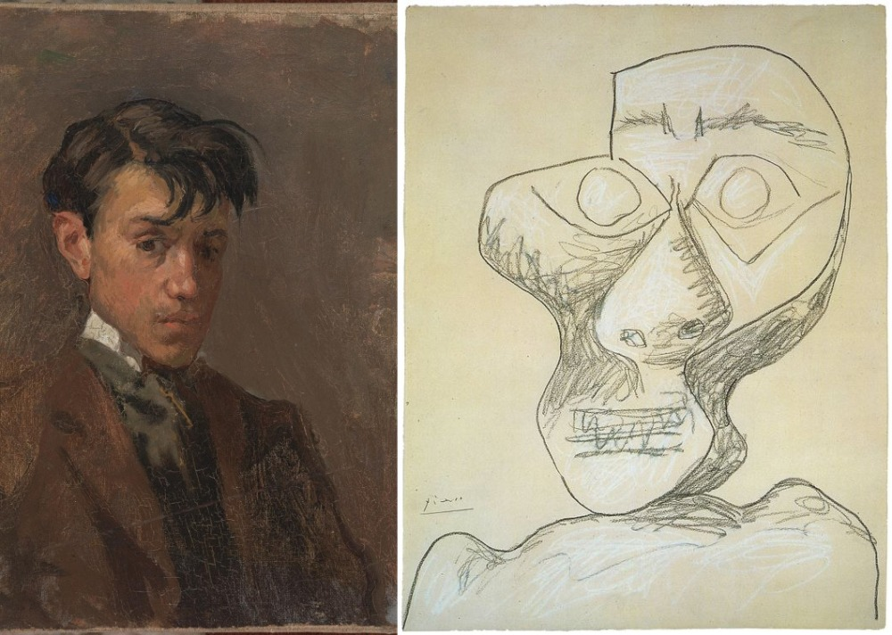 picasso-self-portraits