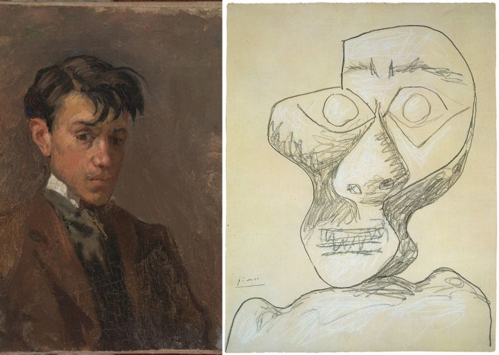 picasso-self-portraits