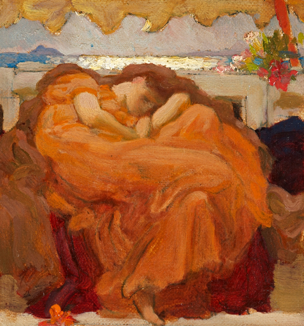 Leighton_Oil-sketch-for-Flaming-June_2000