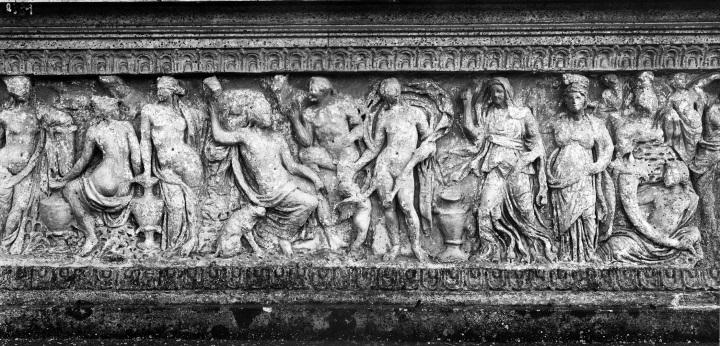 Villa Doria Pamphilj sarcophagus