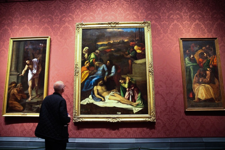 Michelangelo and Sebastiano paintings at the National Gallery
