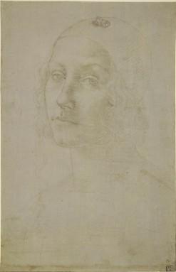 Pietro Perugino, Young woman wearing a cap, c.1485-95. The British Museum, London