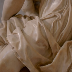 Detail of the Allegory of Painting. Photo: Opera di Santa Croce