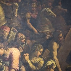 Detail of Christ meeting Veronica. Photo: Opera di Santa Croce