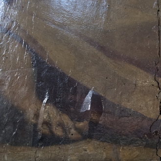 Detail of damage. Photo: Opera di Santa Croce