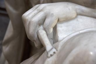 Detail of the Allegory of Sculpture. Photo: Opera di Santa Croce