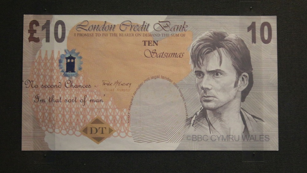 Doctor Who banknote