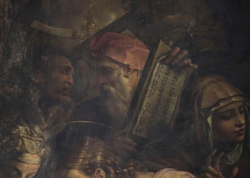 Portraits of Michelangelo and Rosso Fiorentino. Photo: Opera di Santa Croce