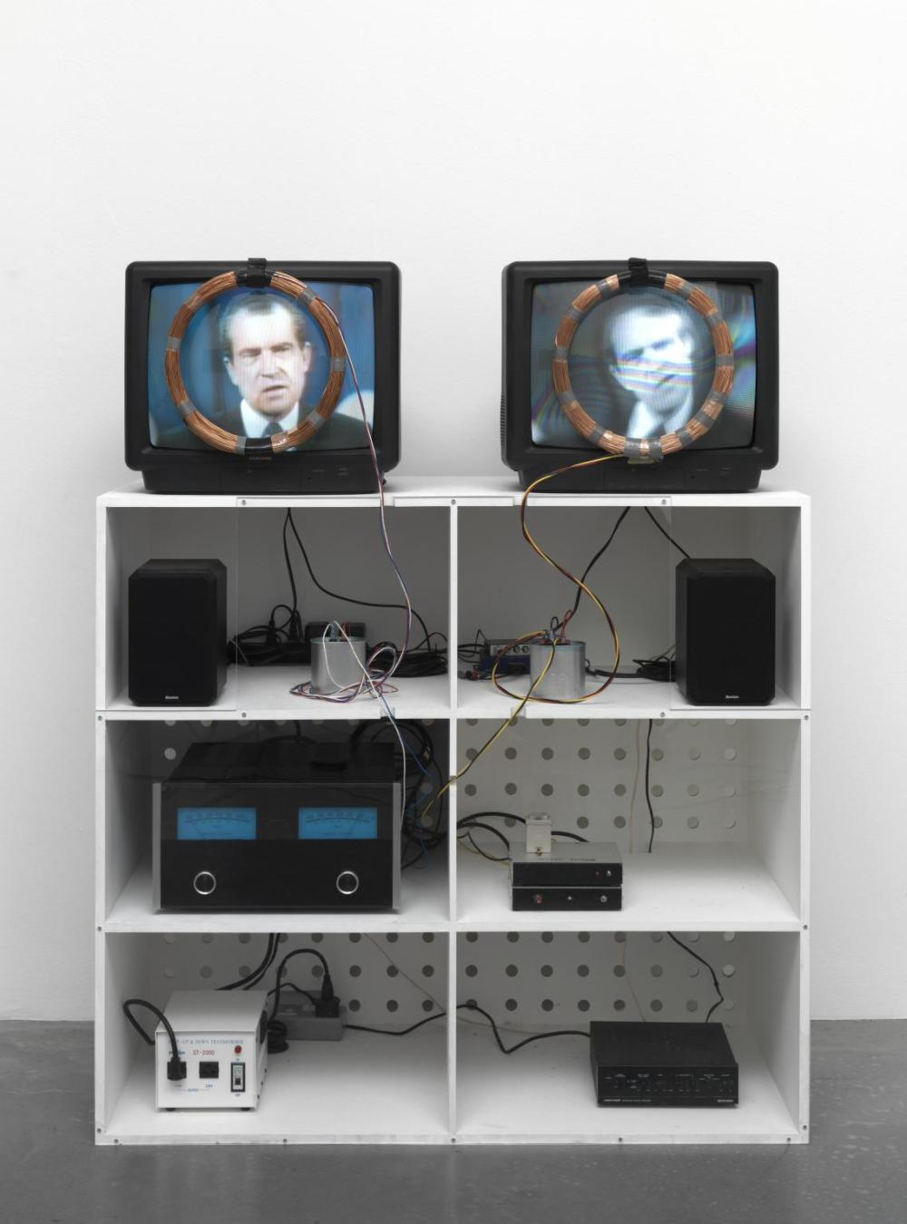 Nixon 1965-2002 by Nam June Paik 1932-2006