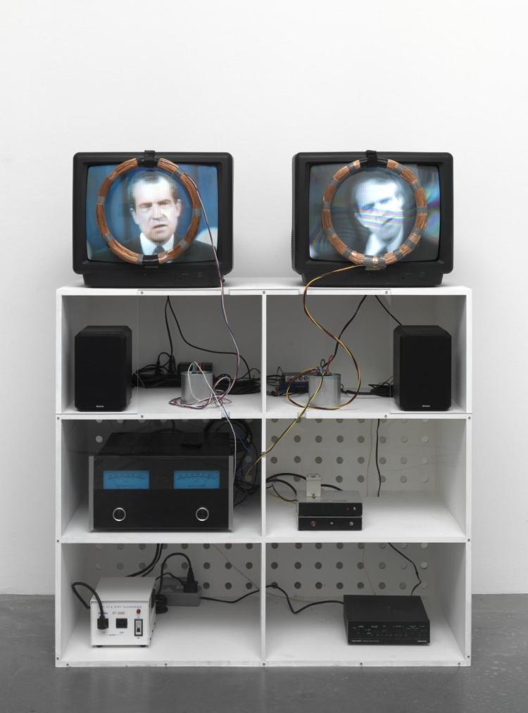 Nixon 1965-2002 by Nam June Paik 1932-2006