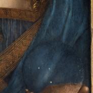 Detail of the Salvator Mundi. © Christie's