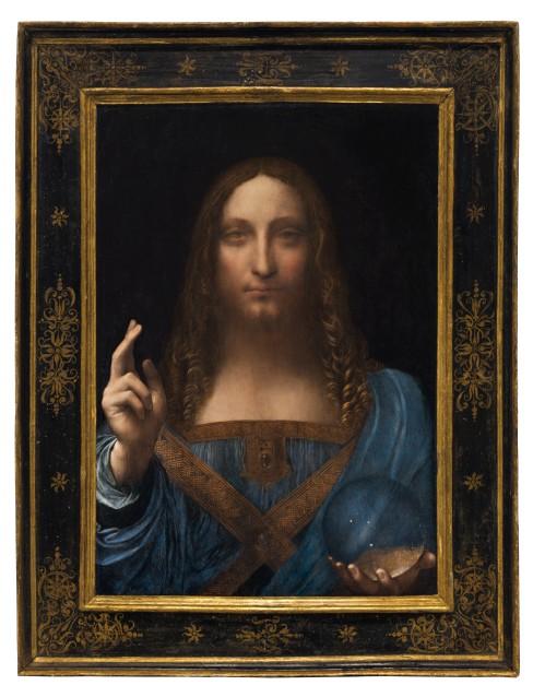 Leonardo da Vinci, Salvator Mundi, c.1500. Private collection. © Christie's