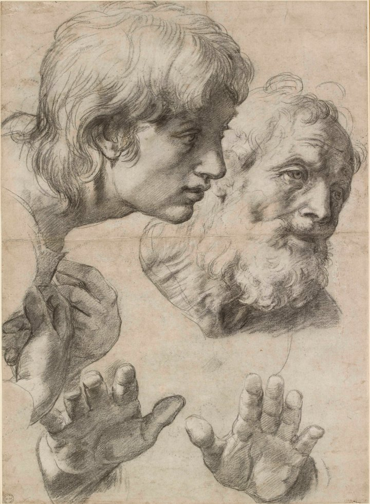 23. Two Apostles (c) Ashmolean Museum, University of Oxford