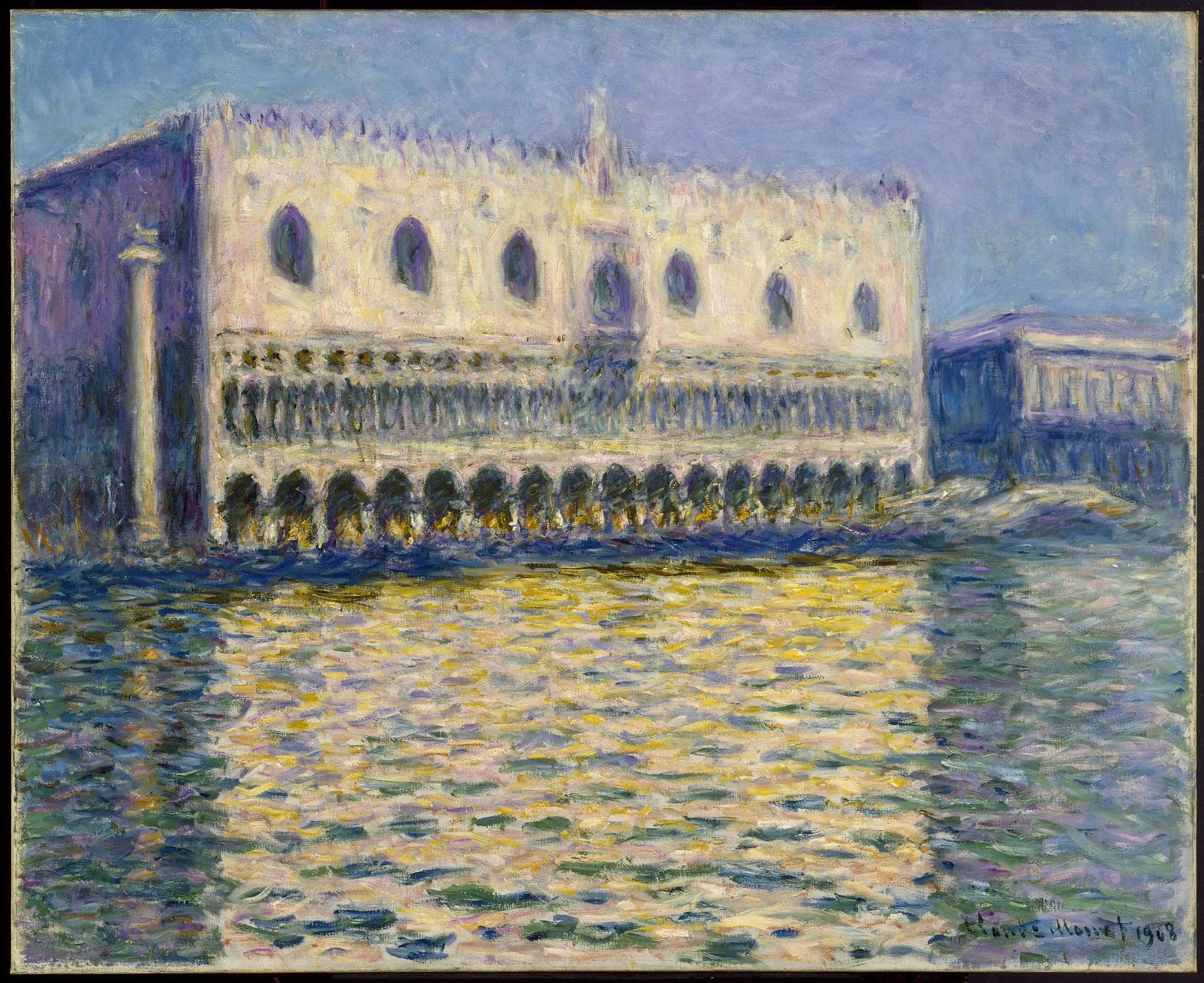 The Doge's Palace (Le Palais ducal), 1908